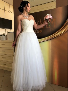 Свадебное платье пышное R004