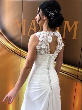 Свадебное платье белое R005