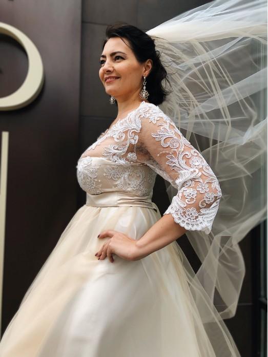 Свадебное платье  S012