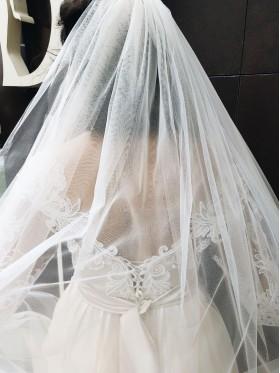 Свадебное платье А-силуэт S012