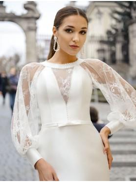 Свадебное платье рыбка S024