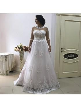 Свадебное платье S019