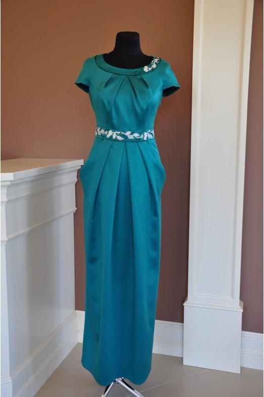Вечернее платье V-006