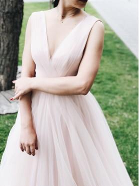 Вечернее платье V-010