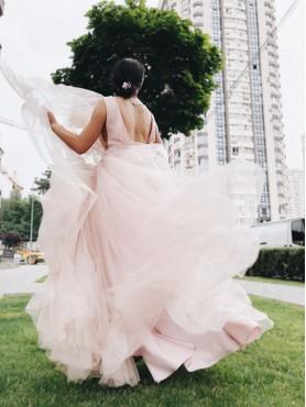 Вечірня сукня V-010