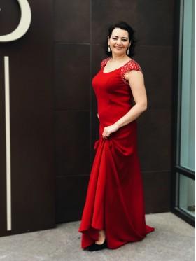 Вечернее платье V-013