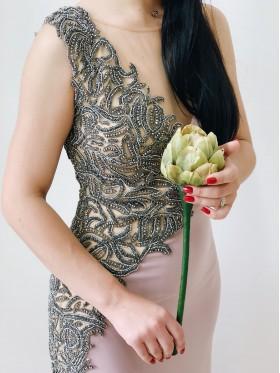 Вечернее платье V-014