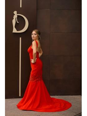 Вечернее платье V-068