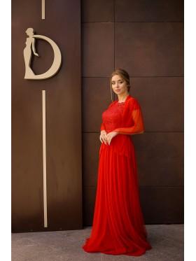 Вечернее платье V-075