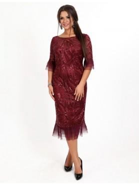 Вечірня сукня V-086