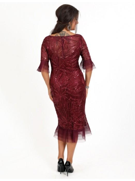 Вечернее платье V-086
