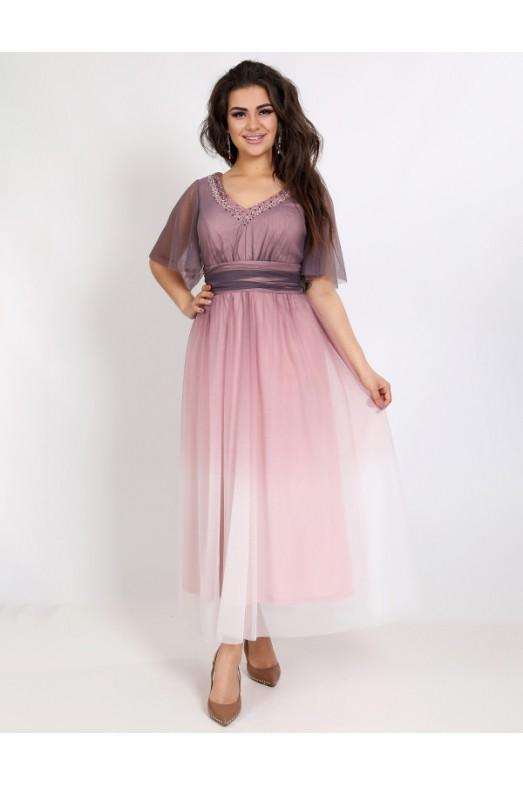 Вечернее платье V-087